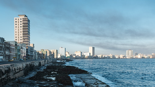 Dawn on the Malecon - Havana | by The-E