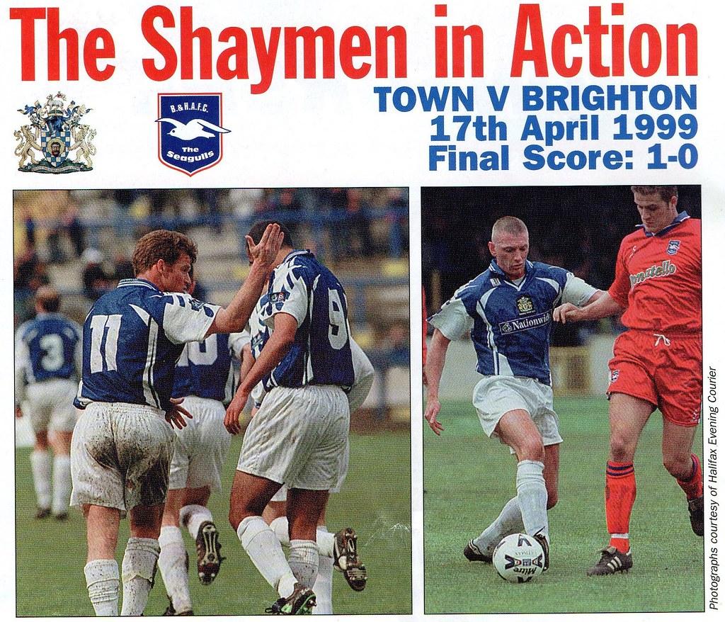 (Programme) 01-05-1999 Halifax Town 1-2 Scarborough 10