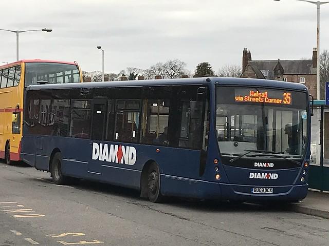 DB 30809 @ Lichfield bus station