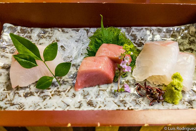 Sashimi que podemos tomar (con nuestra propia salsa tamari)