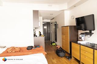 My apartment at the Ski-Inn   by HendrikMorkel