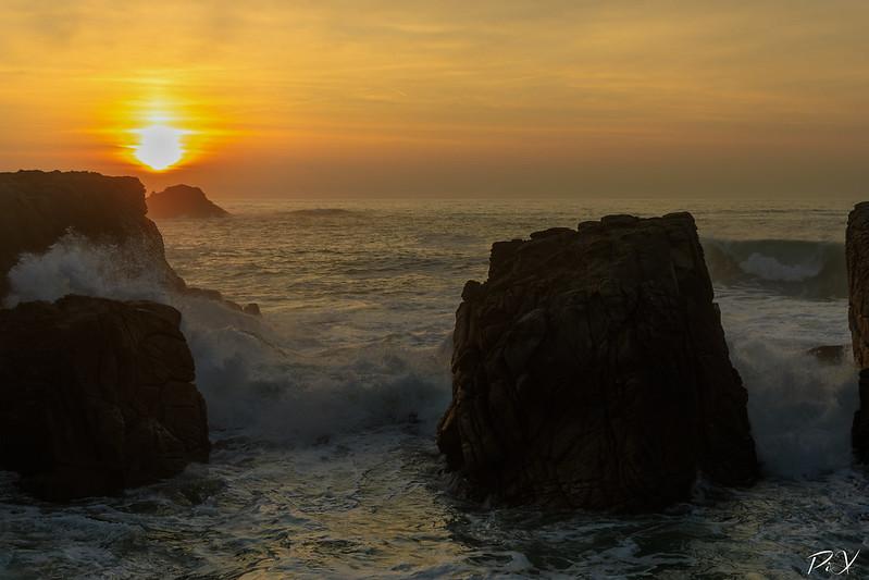 PiX  - Eric Gillard | Coucher du soleil sur la Côte Sauvage