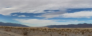 0585 Panorama view of the Mesquite Flat Sand Dunes looking north   by _JFR_