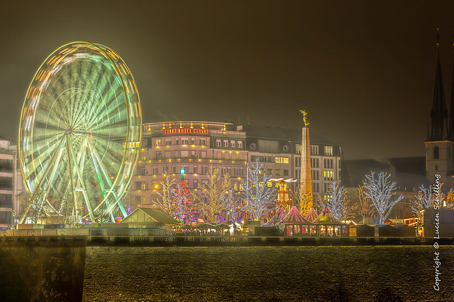Christmas market in Luxembourg