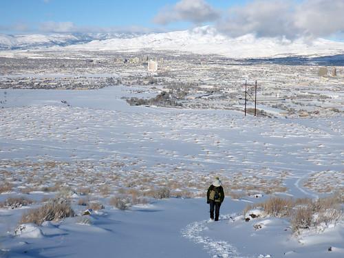 Reno in the background   by simonov
