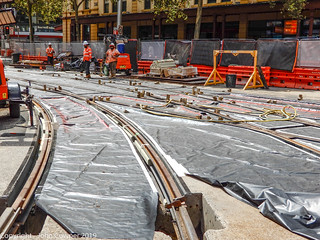 CBD & South East LIght Rail - The 'new' Hay Street Junction (3)