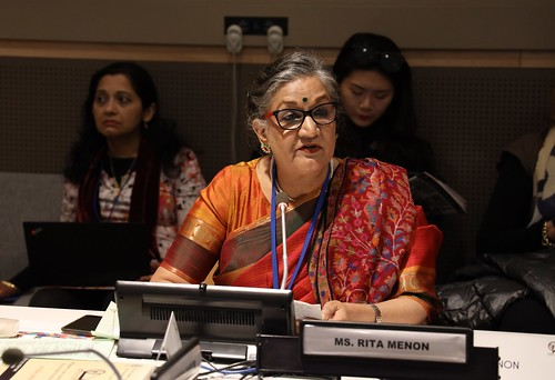 """""""Khadi Goes Global: Empowering Women through Sustainable Production and Consumption"""" Side Event on the Occasion of 63rd Session of the Commission on the Status of Women at the United Nations. 