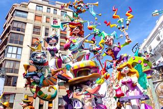 Fallas 2018 de Valencia, España | by VivirEuropa