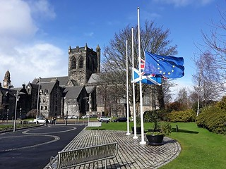 """RENFREWSHIRE'S PROVOST STATEMENT ON NEW ZEALAND TERROR ATTACK Renfrewshire's Provost Lorraine Cameron said: """"Our thoughts and prayers are with everyone who has been affected by this horrific tragedy. https://psly.scot/2XXEi2Q @ProvostCameron   by paisleyorguk"""