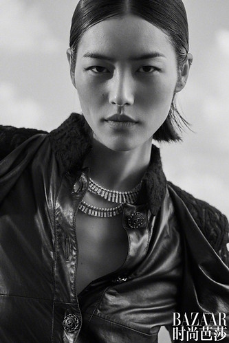 Liu-Wen-Harpers-Bazaar-Cover-Photoshoot03 | by Lucia Gallego Blog