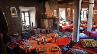 Morocco - Atlas Mountains - Mar 2018 - Hotel Dining Room