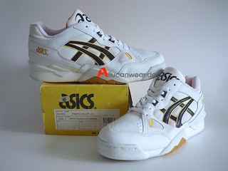 UNWORN VINTAGE ASICS PACIFIC VOLLEY LO VOLLEYBALL SPORT SHOES | by aucwd