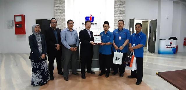Lawatan kerja ke Unit Strategik Modal Insan (USMI) Johor
