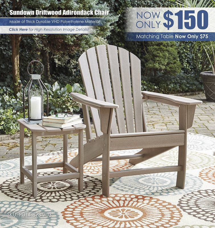 Sundown Driftwood Adirondack Chair_P014-898-703