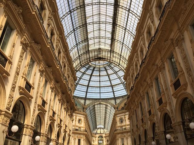 Galleria Vittorio Emanuele in Milan, Italy.