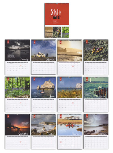 Style of Wight 2019 Calendar. | by s0ulsurfing