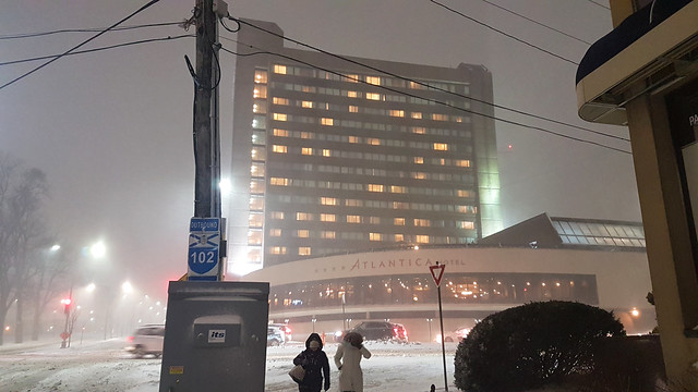 Atlantica Hotel and Snow Storm