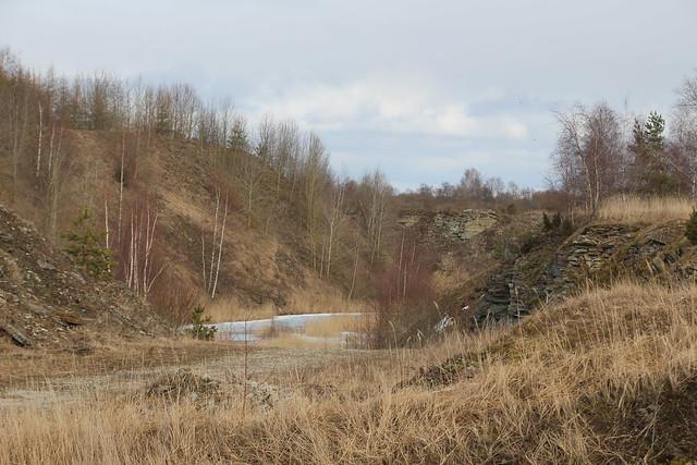 Fosforiidimaa / Former phosphate rock mining area, Estonia