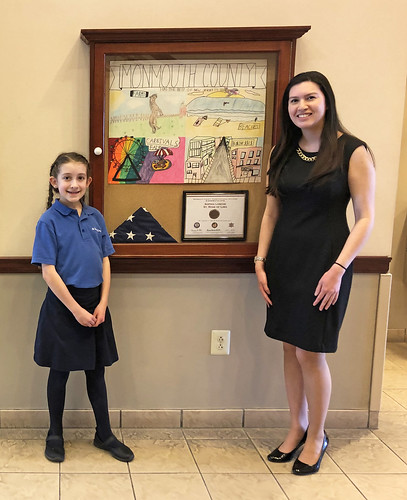 Poster Contest Winner, Sophia Losche, Visits Clerk's Office   by Clerk Christine Giordano Hanlon