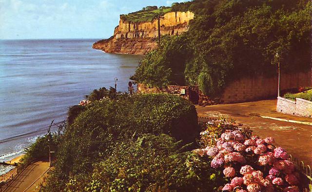Postcard Shanklin Head, Isle of Wight 1965 F