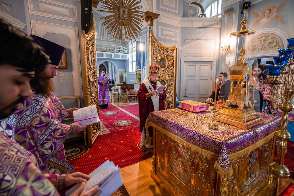 30 марта 2019, Божественная литургия на английском языке / 30 March 2019, Divine liturgy in english language