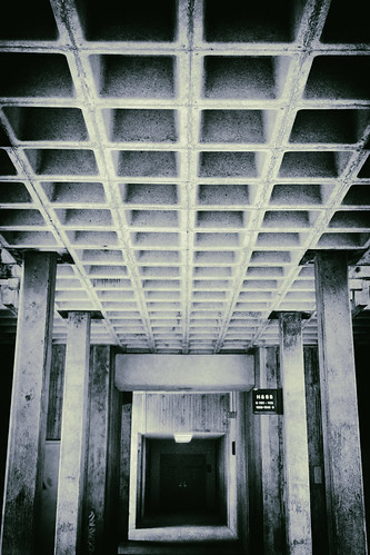 The Brutalist corridor -[ HSS ]-