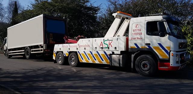 CA02TOW Rear Suspending 18 Ton Scania Rigid