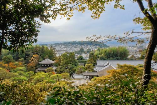 Ginkaku-ji seen from the observation point in the garden | by Tigra K