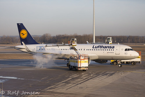 D-AIUY Airbus A320 Lufthansa Munich airport EDDM 19.02-19 | by rjonsen
