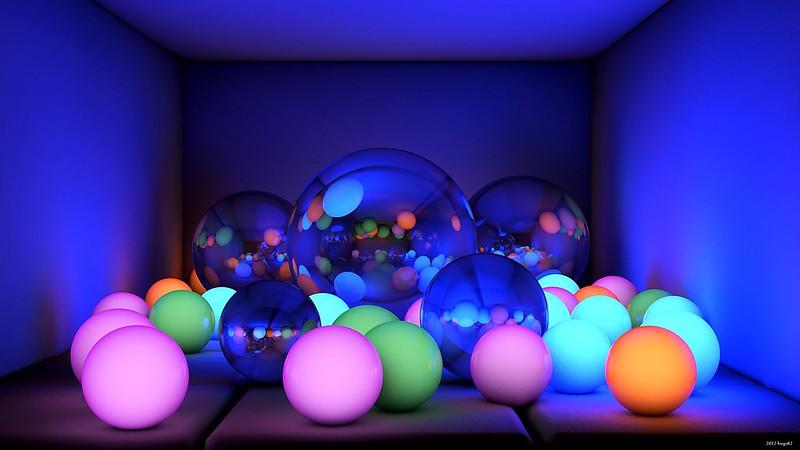Обои шары, размеры, неон, свечение картинки на рабочий стол, фото скачать бесплатно