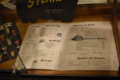 Menu from Hotel Robidoux Dining Room