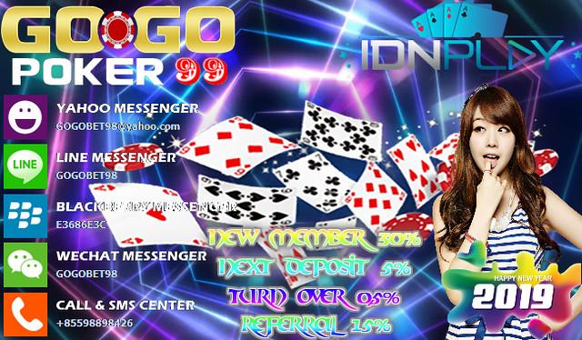 Agen Poker Idnplay Pelayanan Terbaik 2019 Gogopoker99 Flickr