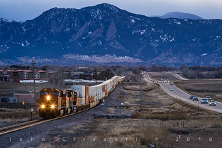 Rush Hour at Gunbarrel | by Colorado & Southern