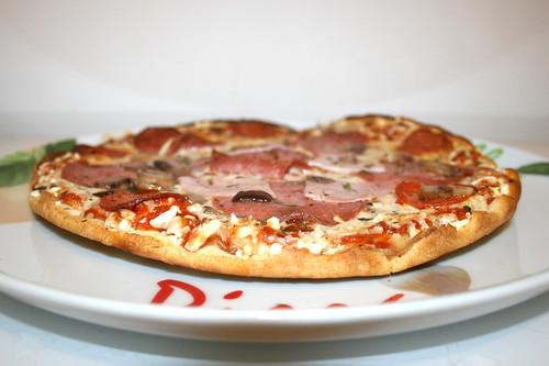Dr. Oetker Pizza Ristorante Speciale - Side view / Seitenansicht