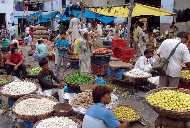 Delhi, old market