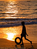 Boy on Beach - Goa by Nickflick1961
