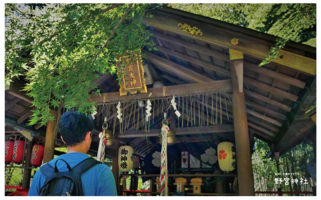 嵐山野宮神社-4