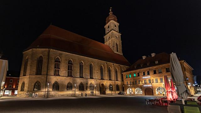 Amberg - Markplatz - Basilika St. Martin - 3053
