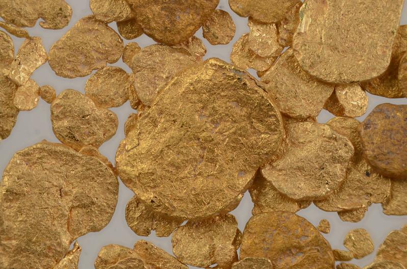 多摩川の砂金