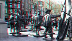 Rembrandtplein Amsterdam 3D