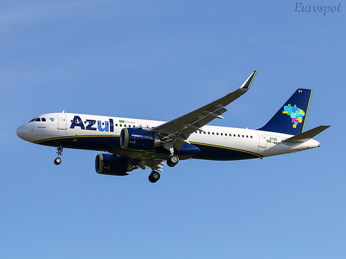F-WWDH Airbus A320 Neo Azul | by @Eurospot