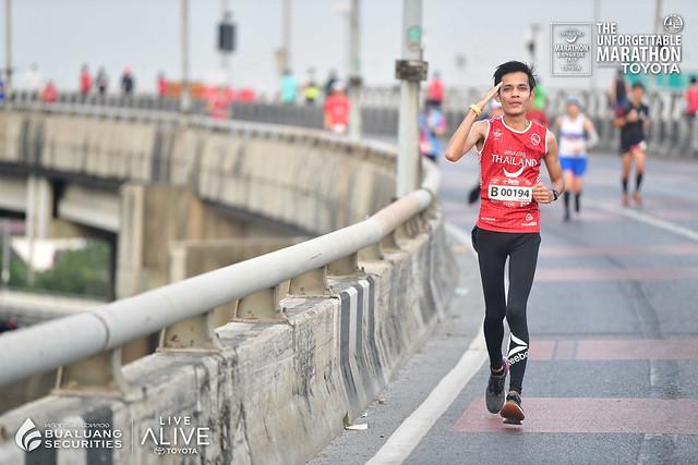 I am officially a Marathoner! Virgin Full Marathon right here in Bangkok, Thailand!