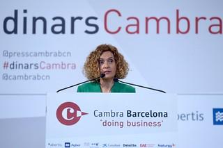 Dinar Cambra Meritxell Batet, 9/4/2019 | by Press Cambrabcn