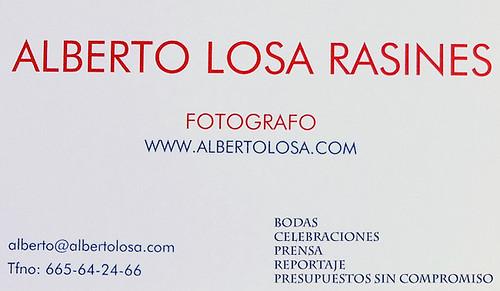 4 5 | by ALBERTO LOSA FOTOGRAFÍA