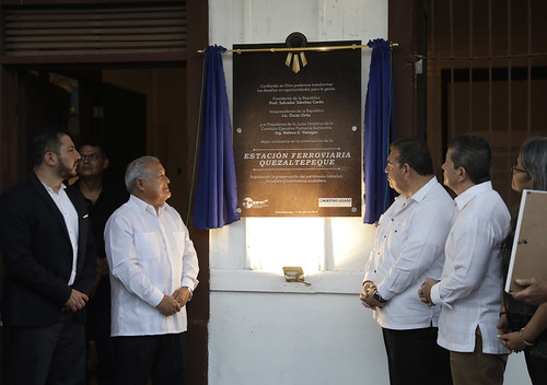 Inauguración Estación Ferroviaria Quezaltepeque (20)   by Fotos Presidencia El Salvador