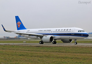 F-WWIV Airbus A320 Neo China Southern | by @Eurospot