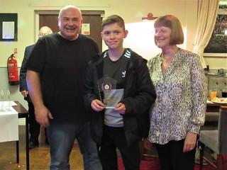 William Rabjohns – Club Junior Champion