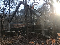 Ruffs Mill Factory Storage Building Ruins