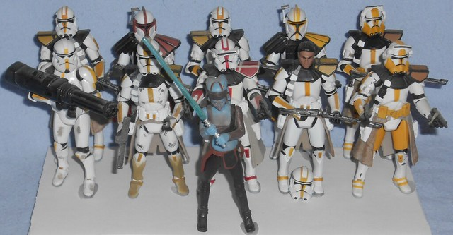 Hasbro - Aayla Secura with 327th Star Corps