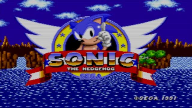 Sonic 1 Logo
